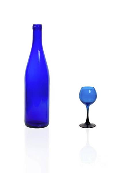 Blue  #2438 Art Print