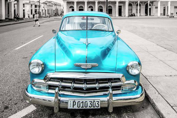Photograph - Blue 52 by Lou Novick