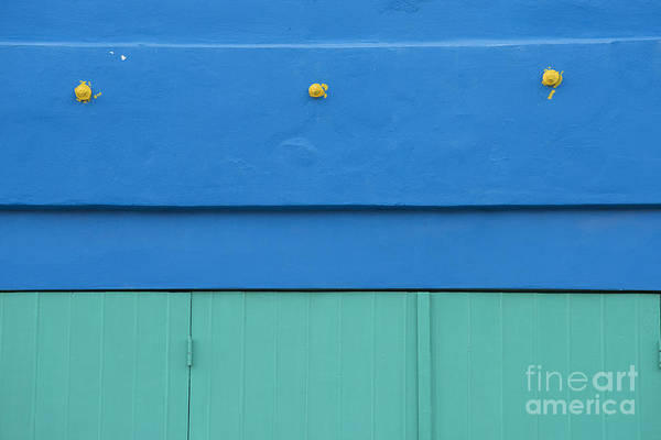 Wall Art - Photograph - Blue Architectural Detail by Juli Scalzi