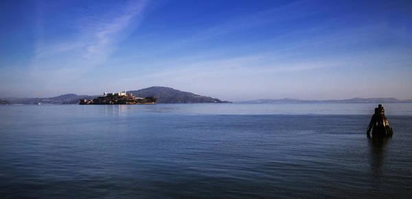 Photograph - Blue Alcatraz by Michael Hope