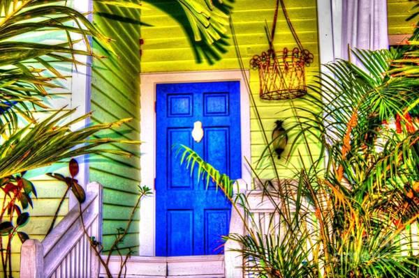 Wall Art - Photograph - Blue And Green by Debbi Granruth