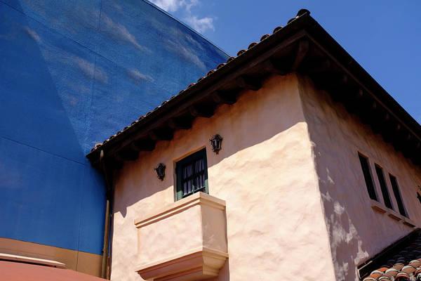 Blue And Vintage Color Architecture Photo In Saint Augustine Flo Art Print