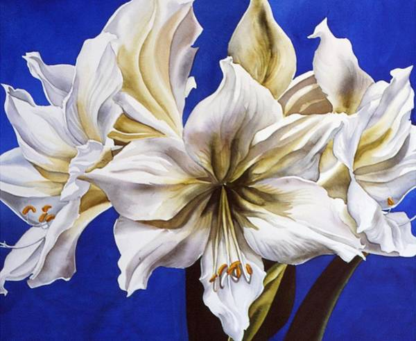 Painting - Blue And White by Alfred Ng