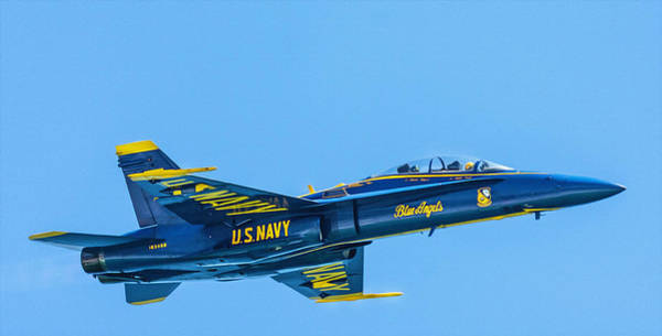 Photograph - Blue Angel by Keith Smith