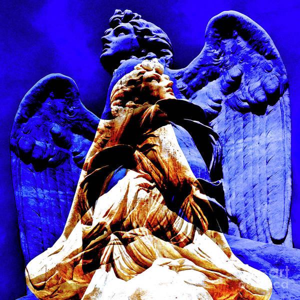 Photograph - Blue Angel Wings by Silva Wischeropp