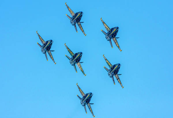 Photograph - Blue Angels 1 by Keith Smith