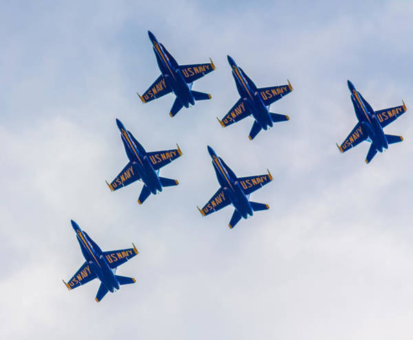 Photograph - Blue Angels 2 by Brian MacLean