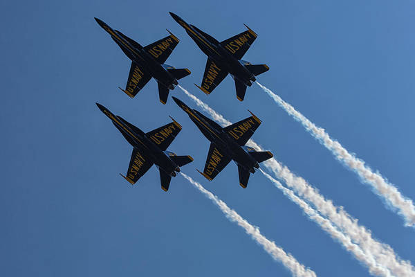 Wall Art - Photograph - Blue Angels 2 by Heather Kenward