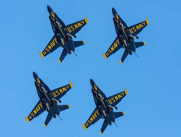 Photograph - Blue Angels 2 by Keith Smith