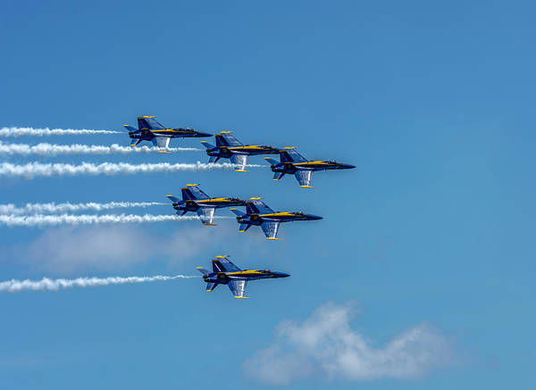 Photograph - Blue Angels 3 by Keith Smith
