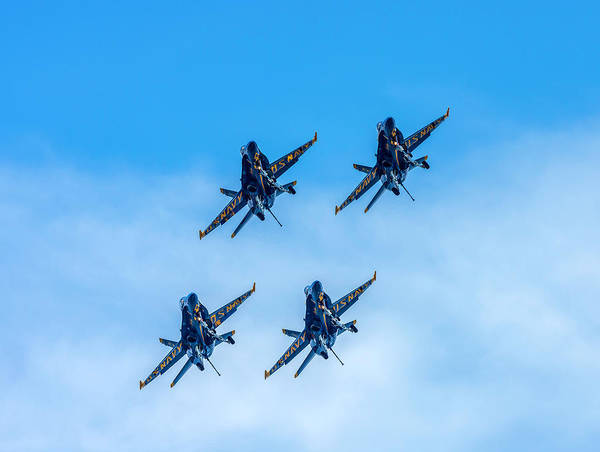 Photograph - Blue Angels 4 by Keith Smith