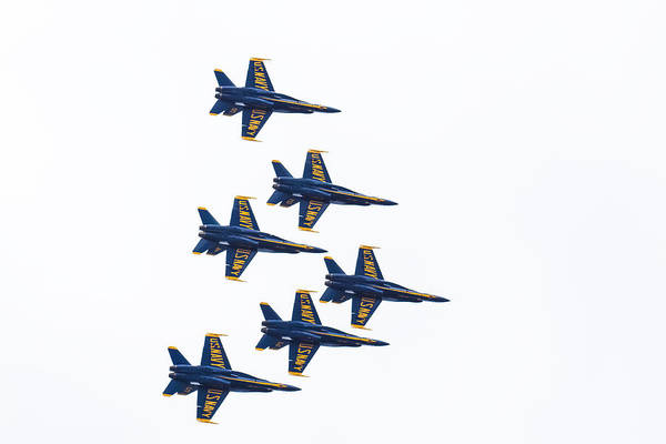 Photograph - Blue Angels by Brian MacLean