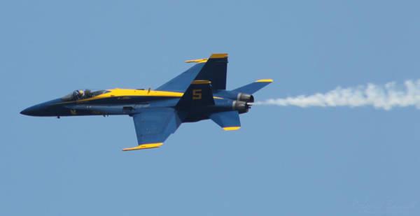 Photograph - Blue Angels F/a-18 Hornet by Robert Banach
