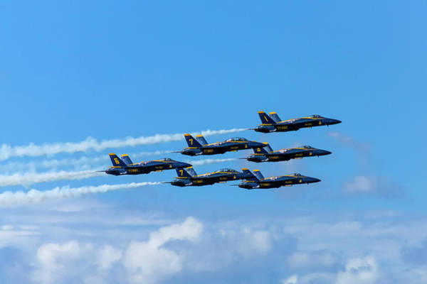 Photograph - Blue Angels IIi by Greg Reed