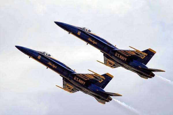Photograph - Blue Angels Iv by Gigi Ebert