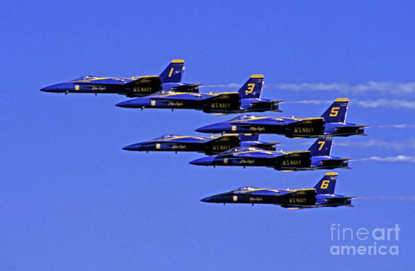 Photograph - Blue Angles by Paul W Faust -  Impressions of Light