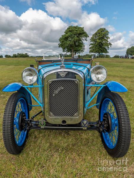 1933 Photograph - Blue Austin by Adrian Evans