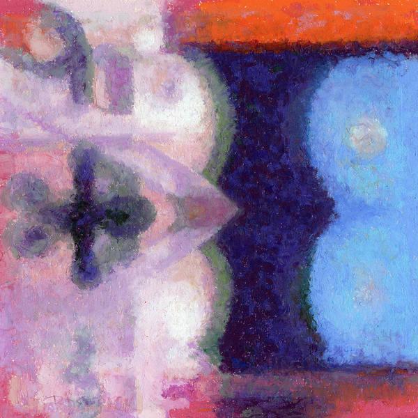 Pastel - Blue Barrells I by Betsy Derrick