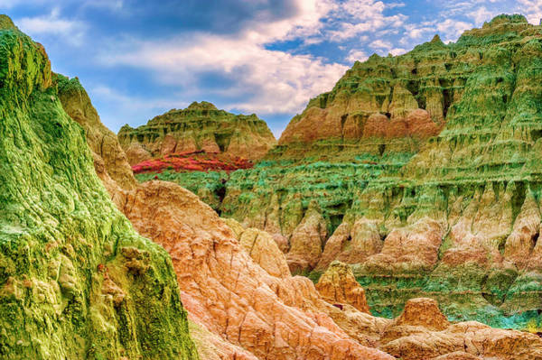 Photograph - Blue Basin Layers by Dee Browning