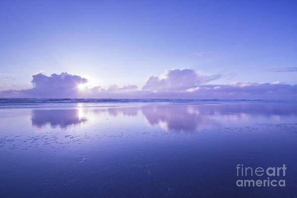 Wall Art - Photograph - Blue Beach by Masako Metz
