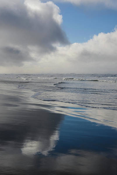 Photograph - Blue Beach Reflection by Robert Potts