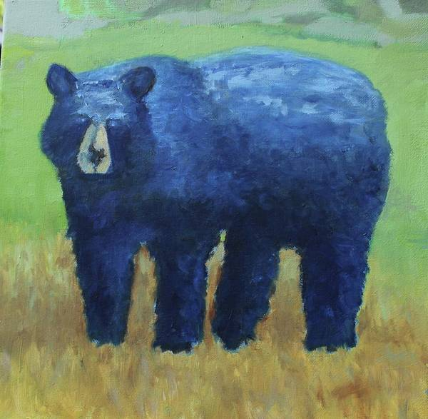 Painting - Blue Bear by Dennis Sullivan