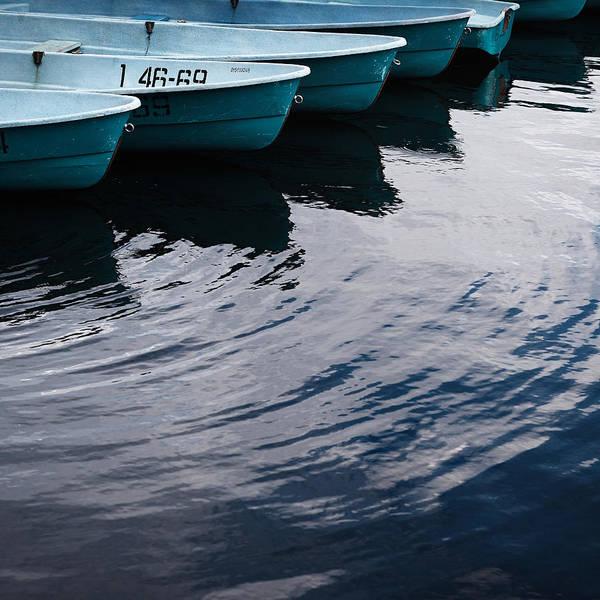 Photograph - Blue Boat by Andrey  Godyaykin