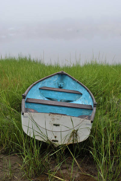 Photograph - Blue Boat by David Gordon