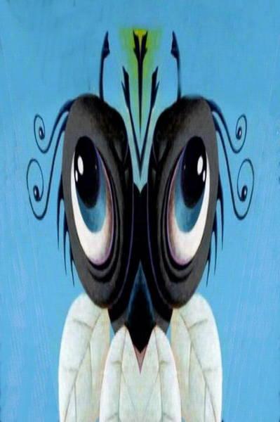Digital Art - Blue Boy by Mary Russell