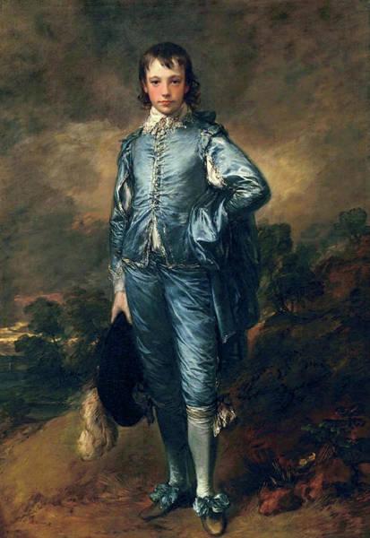 Painting - Blue Boy by Thomas Gainsborogh