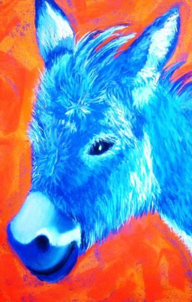 Blue Burrito Art Print