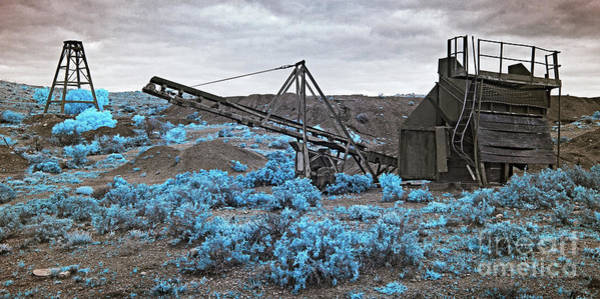 Photograph - Blue Bush Mine by Russell Brown