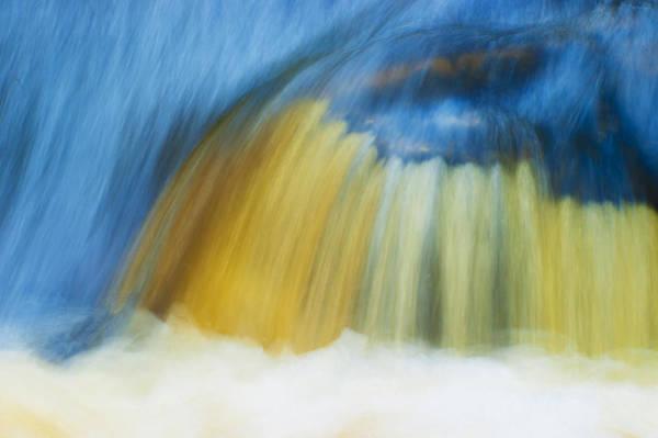 Aira Force Wall Art - Photograph - Blue Cascade by Paul Cullen