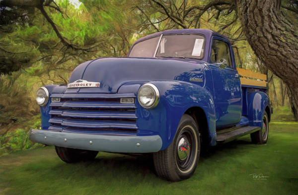 Photograph - Chevy On The Green by Bill Posner