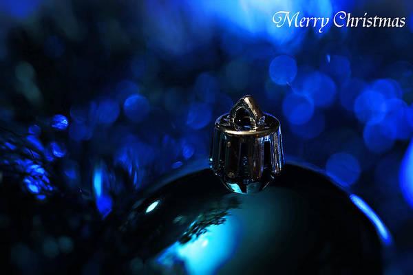 Wall Art - Photograph - Blue Christmas by Celestial  Blue