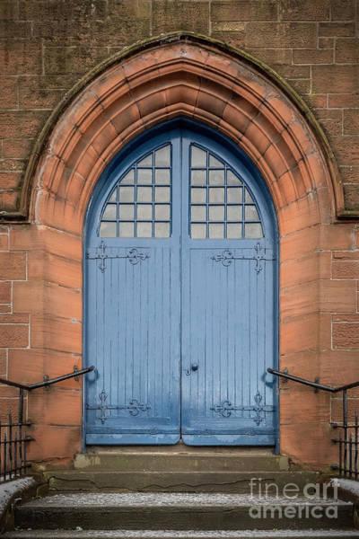 Wall Art - Photograph - Blue Church Doors by Antony McAulay