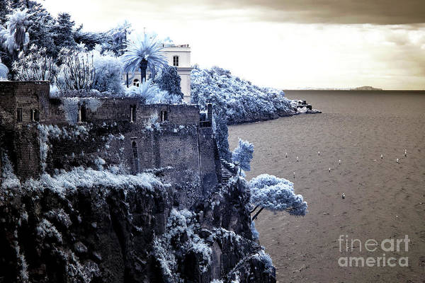 Photograph - Blue Cliff In Sorrento by John Rizzuto