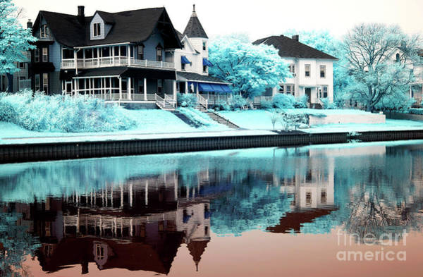 Photograph - Blue Day At Ocean Grove by John Rizzuto