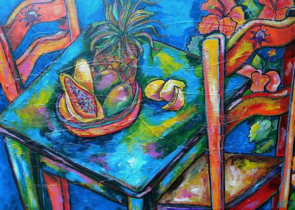 Painting - Blue Day by Patti Schermerhorn
