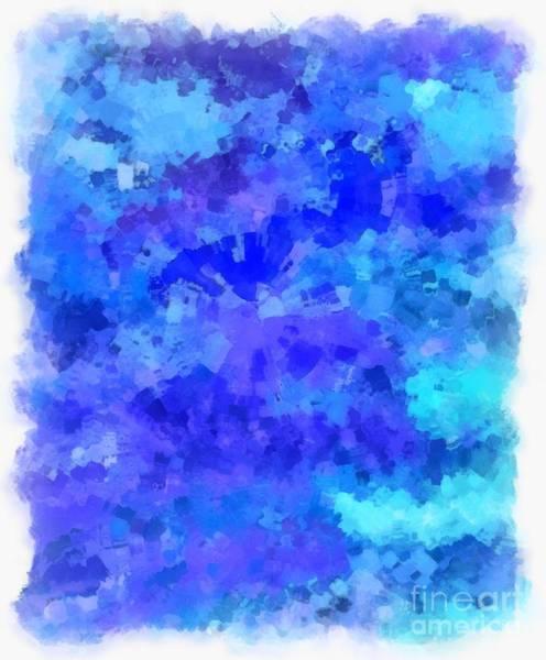 Wall Art - Digital Art - Blue Destiny by Krissy Katsimbras