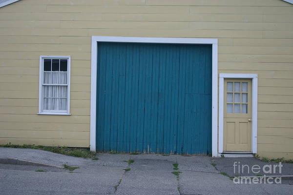 Wall Art - Photograph - Blue Door by Dennis Curry