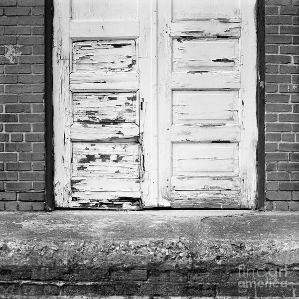 Photograph - Blue Door Frame by Patrick M Lynch