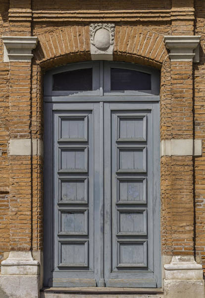 Photograph - Blue Door In Toulouse by Georgia Fowler