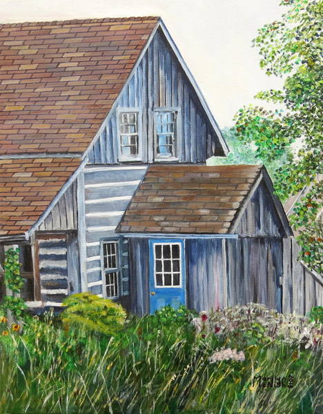 Painting - Blue Door by Marilyn  McNish