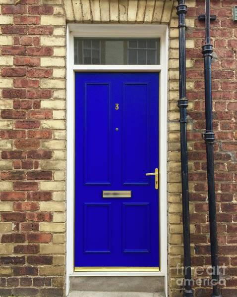 Photograph - Blue Door Number 3 by Suzanne Lorenz