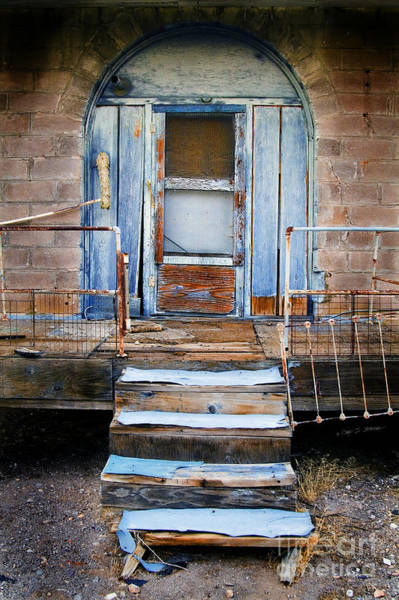 Photograph - Blue Door Of Riley by Craig J Satterlee