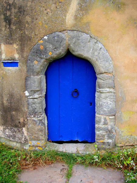 Photograph - Blue Door by Roberto Alamino