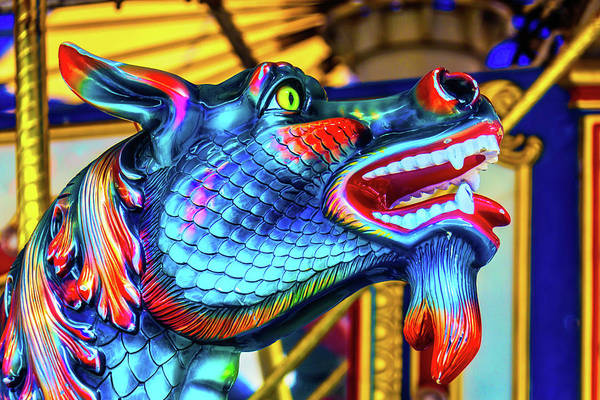 Photograph - Blue Dragon Ride by Garry Gay