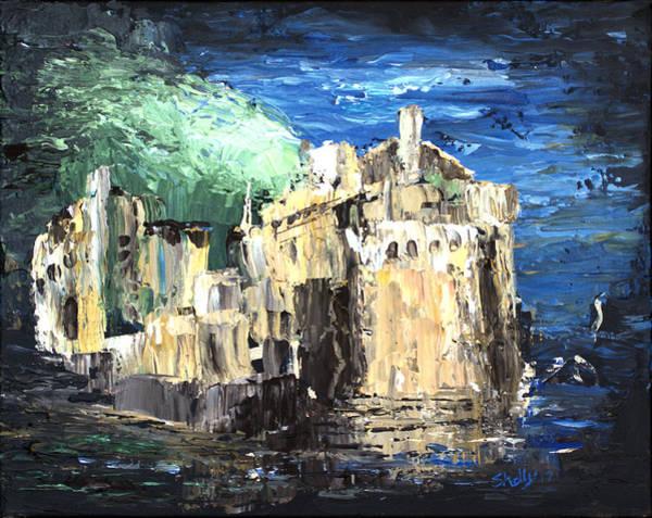 Eilean Donan Castle Painting - Blue Dreams Of Scotland Eilean Donan Inverness-shire by Shelly Tschupp