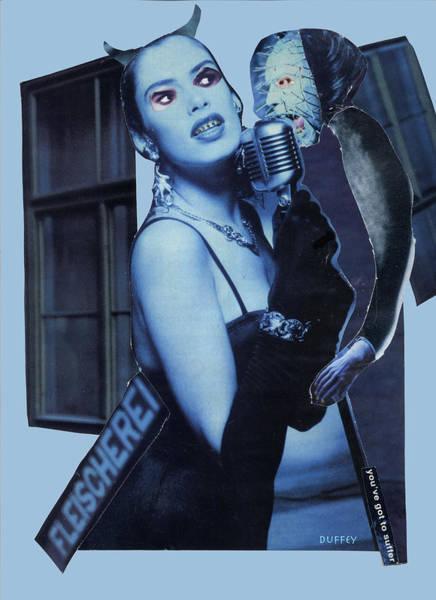 Digital Art - Blue Duet by Doug Duffey